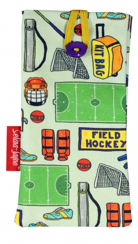 Selina-Jayne Field Hockey Limited Edition Designer Soft Glasses Case